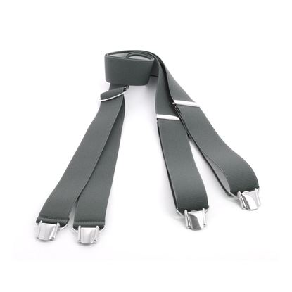 Picture of Plain Color Classic Clip Suspenders - 3,5 cm. wide