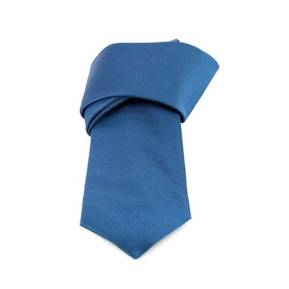Picture of Aviation Blue Silk Tie - 8 cm. wide