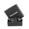 Picture of Black Brushed Calf Leather Welded Belt - 3 cm. wide