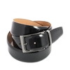 Picture of Black Brushed Calf Leather Belt - 3,5 cm. wide