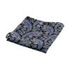 Picture of Black Paisley Wool Handkerchief