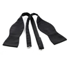 Picture of Black Silk Untied Bow Tie