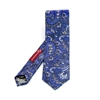 Picture of Blue Paisley Silk Tie - 7 cm. wide