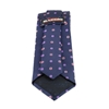 Picture of Blue Patterned Jacquard Silk Tie - 8 cm. Wide
