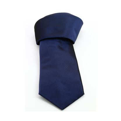 Picture of Blue Silk Tie - 8 cm. wide