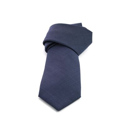 Picture of Blue Wool Tie - 8 cm. wide