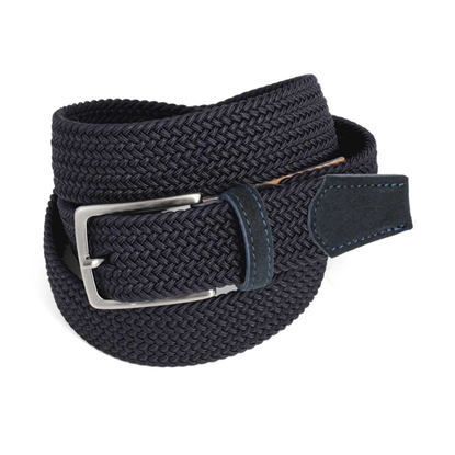 Picture of Dark Blue Braided Belt - 3,5 cm. wide