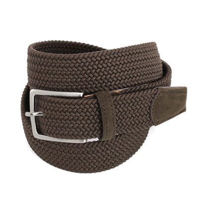 Picture of Dark Brown Braided Belt - 3,5 cm. wide