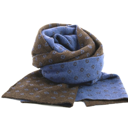 Picture of Reversible Patterned Scarf