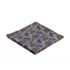 Picture of Grey Paisley Wool Handkerchief