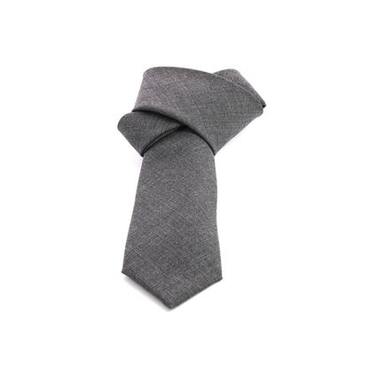 Picture of Grey Prince of Wales Wool Tie - 7 cm. wide