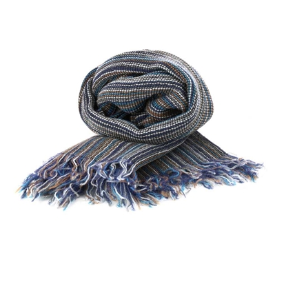 Picture of Narrow Stripes Wool Scarf