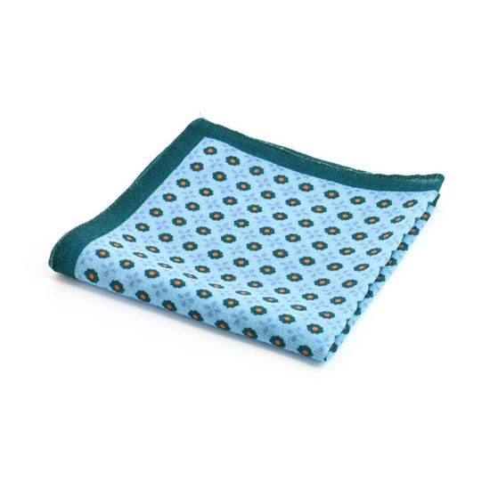 Picture of Patterned Wool Handkerchief
