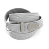 Picture of Pearl Grey Braided Belt - 3,5 cm. wide