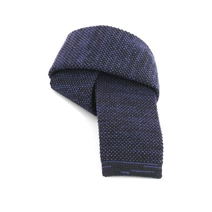 Picture of Plain Color Knitted Wool Tie - 6 cm. wide