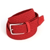Picture of Red Braided Belt - 3,5 cm. wide