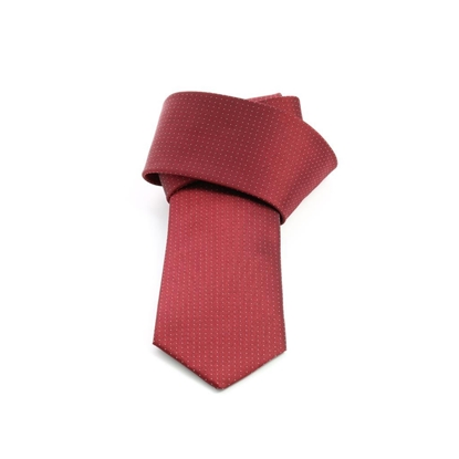 Picture of Red Micro Dot Silk Tie - 7 cm. wide