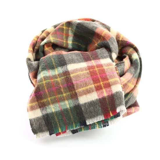 Picture of Tartan Cotton Scarf