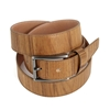 Picture of Teak Wood & Leather Belt - 3,5 cm. wide