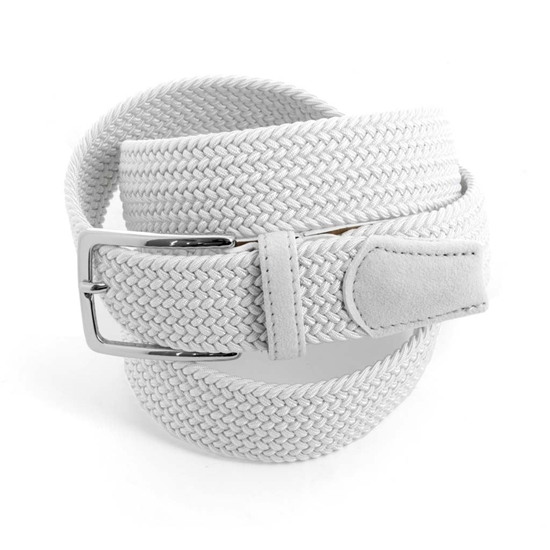 Picture of White Braided Belt - 3,5 cm. wide