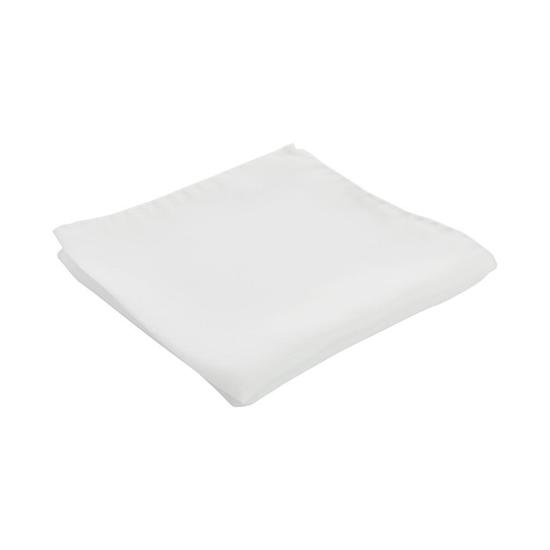 Picture of White Silk Handkerchief