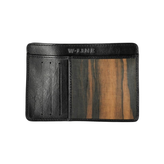 Picture of Wood & Leather Credit Card Holder