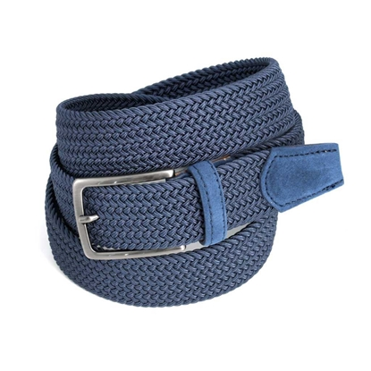 Picture of Aviation Blue Braided Belt - 3,5 cm. wide