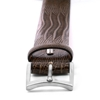 Picture of Brown Lizard Print Calf Leather Belt - 3,5 cm. wide