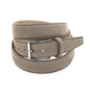 Picture of Dove Brown Alcantara Belt - 3,5 cm. wide