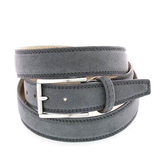 Picture of Grey Alcantara Belt - 3 cm. wide