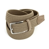 Picture of Dove Brown Braided Belt - 3,5 cm. wide