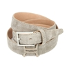 Picture of Nut Vintage Shaped Calf Leather Belt