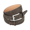 Picture of Dark Brown Vintage Shaped Calf Leather Belt