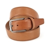 Picture of Cognac Hammered Calf Leather Belt - 3,5 cm. wide