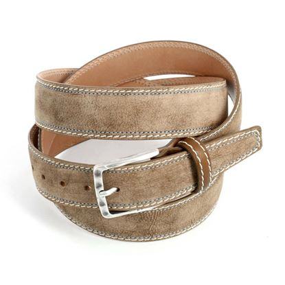 Picture of Brown Calf Leather Belt - 3,5 cm. wide