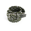 Picture of Green & Grey Braided Belt - 3,5 cm. wide