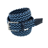 Picture of Blue & Bluette Braided Belt - 3,5 cm. wide