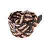 Picture of Brown & Orange Braided Belt - 3,5 cm. wide
