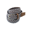 Picture of Brown & Blue Braided Belt - 3,5 cm. wide