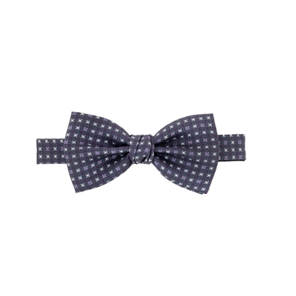 Picture of Micro Pattern Silk Bow Tie