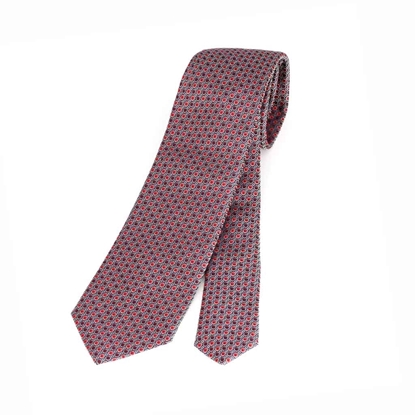 Picture of Micro Pattern Silk Tie - 7 cm. wide