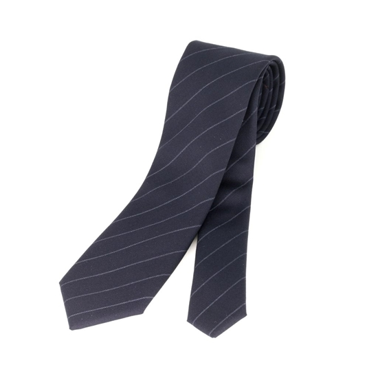 Picture of Pinstriped  Wool Tie - 7 cm. wide