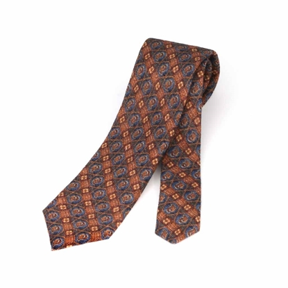 Picture of Fancy Patterned  Wool Tie - 7 cm. wide