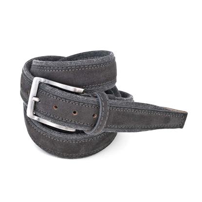 Picture of Dark Grey Alcantara Belt - 3,5 cm. wide