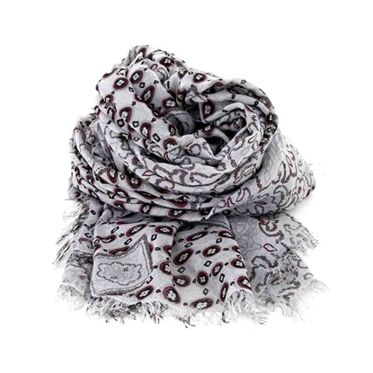 Picture of Flowers Pattern Scarf