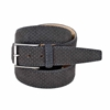Picture of Grey Perforeted Alcantara Belt - 3,5 cm. wide
