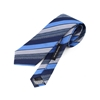 Picture of Large stripes Regimental Jacquard Silk Tie - 7 cm. wide