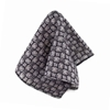 Picture of Grey Geometric Fancy Wool Handkerchief