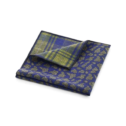 Picture of Double Face Fancy Wool Handkerchief