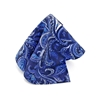 Picture of Blue Paisley Silk Handkerchief